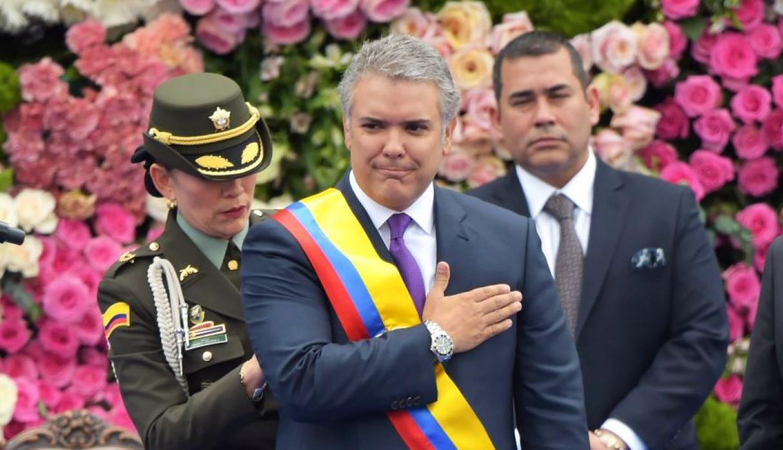 Iván Duque tomó posesión de la Presidencia de Colombia