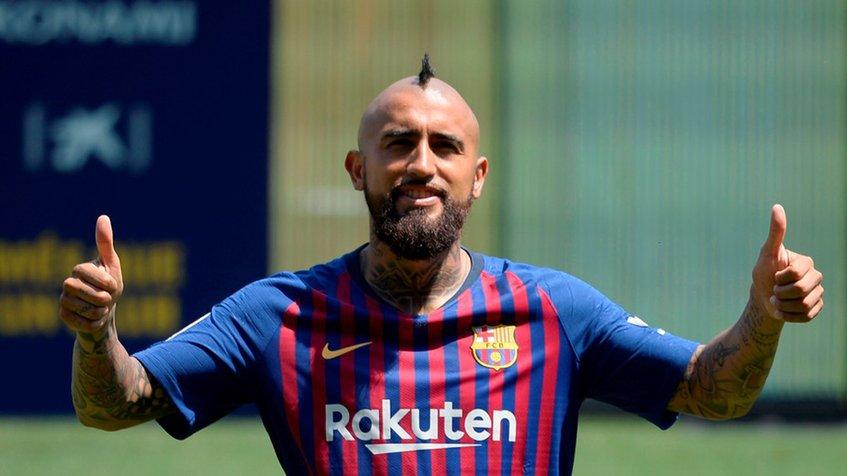Arturo Vidal se convirtió en el nuevo jugador del FC Barcelona