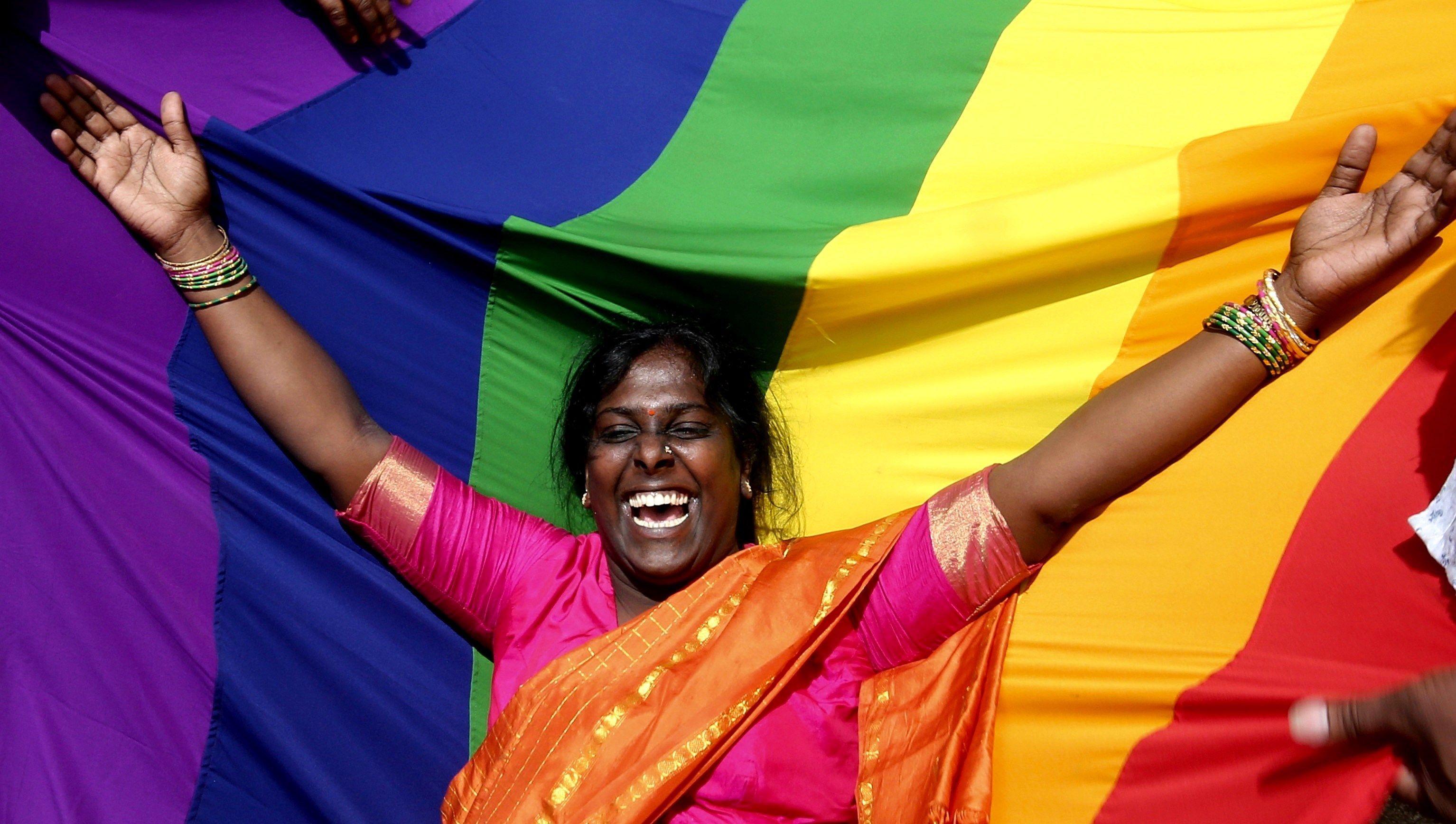 La homosexualidad ya no es un delito en la India.