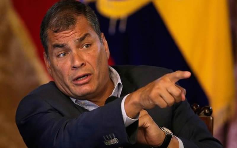Interpol decidirá fecha sobre difusión roja de Rafael Correa